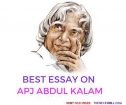 Essay on APJ Abdul Kalam