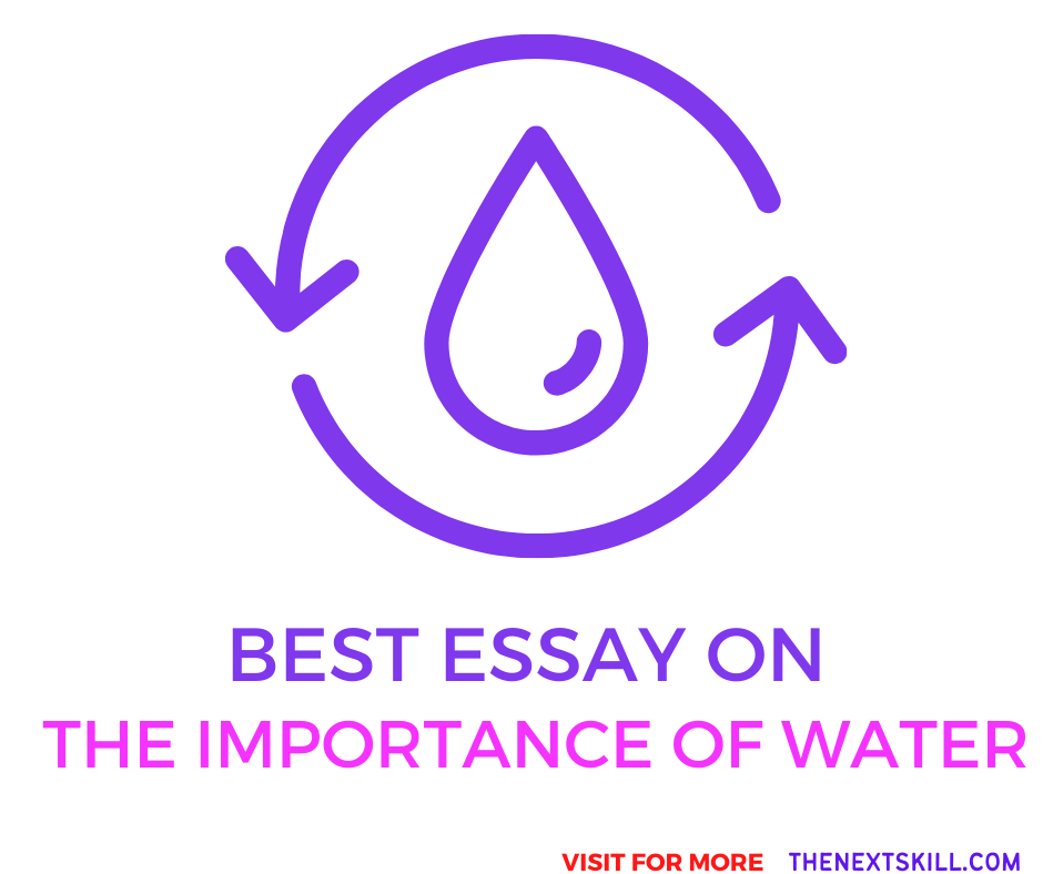 Essay oThe Importance Of Water
