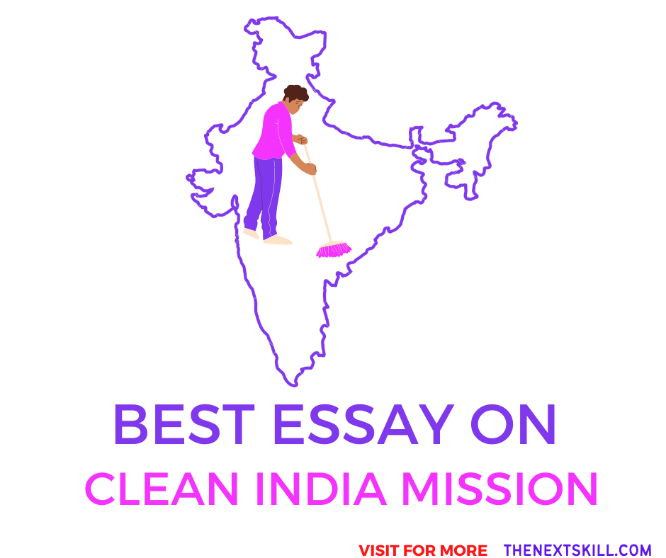 Essay on Clean India Mission